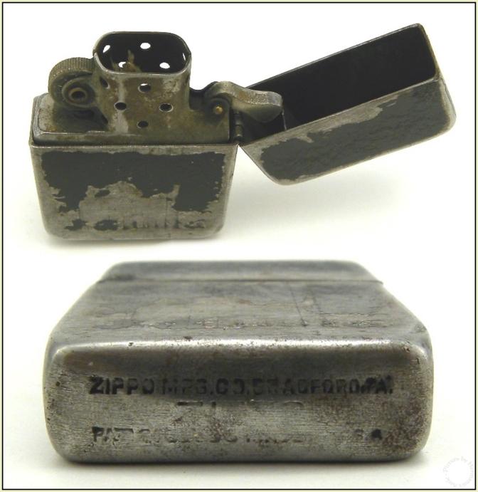 Black Crackle Zippo 1941