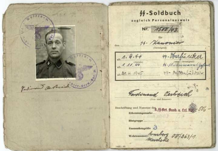 German Soldbuch 1