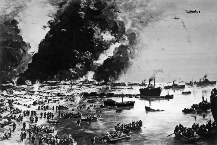 The Withdrawal from Dunkirk, June 1940 - C Cundall.jpg