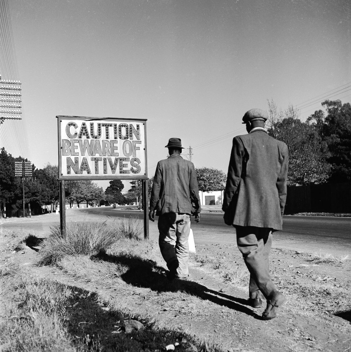 Image result for caution beware of natives south africa